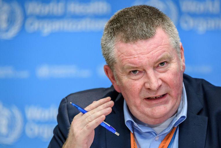 WHO-arts Michael Ryan. Beeld AFP