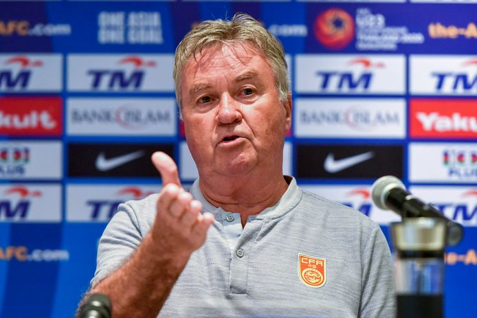 De laatste klus van Hiddink, voor China.