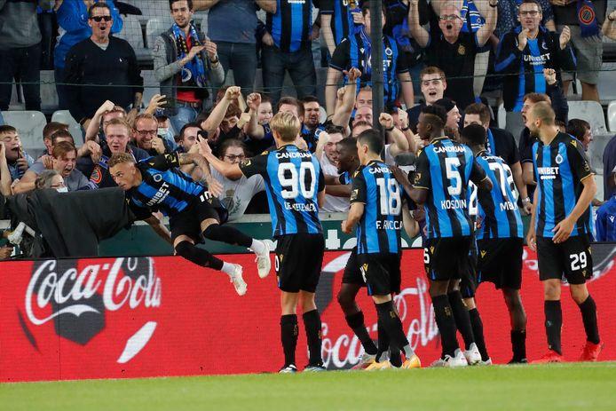 Le Club de Bruges à la fête.