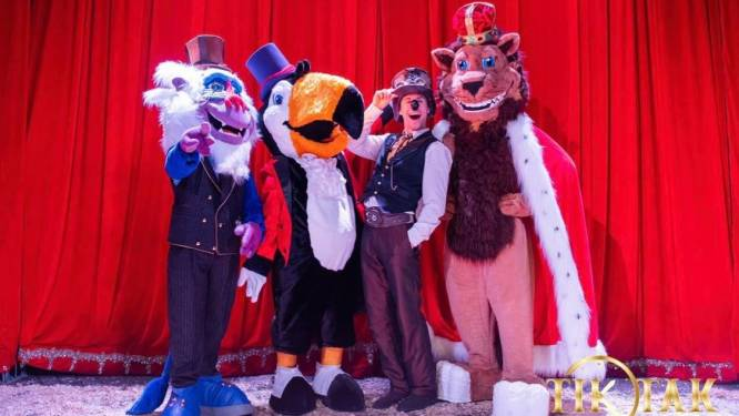 Tik Tak Circus strijkt neer op kerkplein