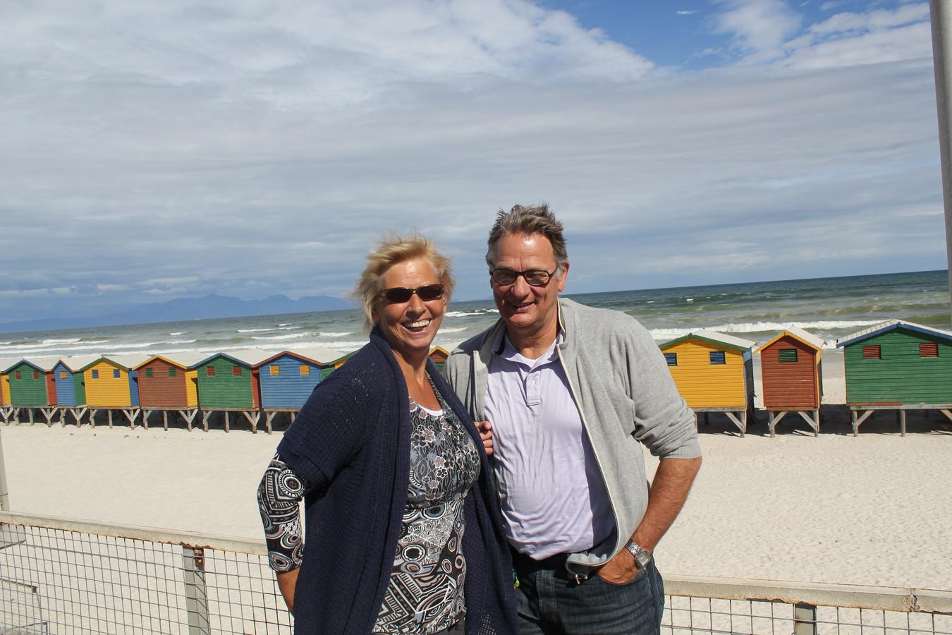 Yvonne en Hennie Spijkerman in hun geliefde Zuid-Afrika: 'Ik denk dat ze daar het gelukkigst was'.