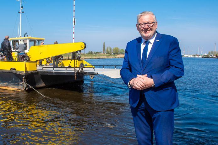 Burgemeester van Bunschoten-Spakenburg Melis van de Groep