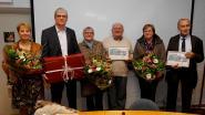 Gemeenteraad huldigt eremandatarissen Raf Willaert en Frans Verhelst