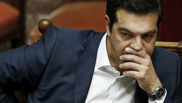 De Griekse premier Alexis Tsipras ziet morgen opnieuw Angela Merkel en Francois Hollande, in een poging om uit de impasse te geraken