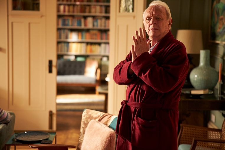 Anthony Hopkins in The Father Beeld Sean Gleason