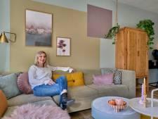 'Volwassen' witte muren zijn niets voor Kim: 'Ik pak heel vaak de kwast'