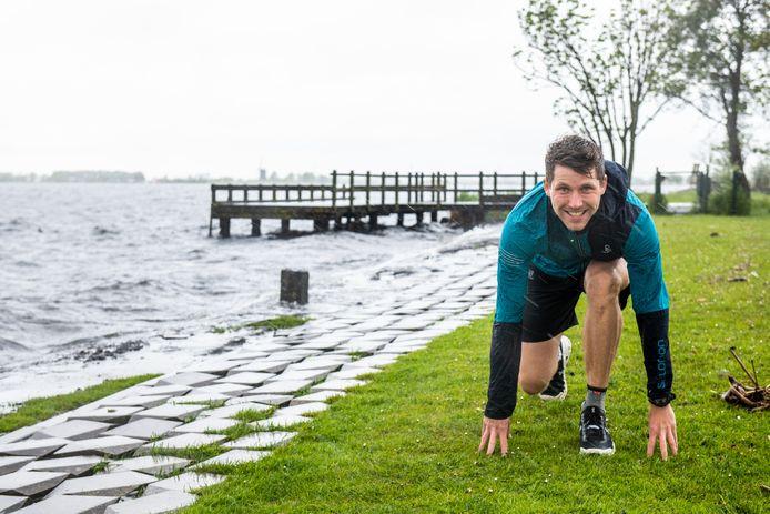 Luuk van der Jagt uit Leimuiden gaat volgende week 165 km hardlopen in België.