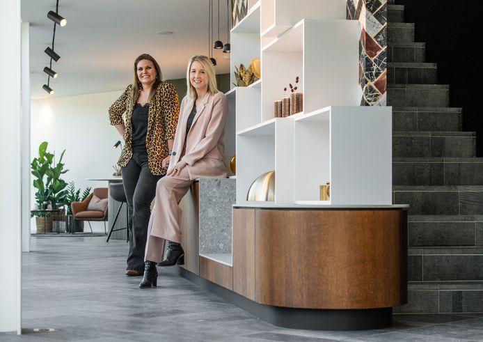 Els Keersmaekers (rechts) van Arooma & Ann Brosius (links) van Brotec
