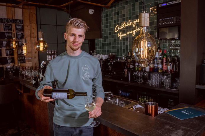 Ruben Strating eigenaar van restaurant De Vrienden van Ommen.
