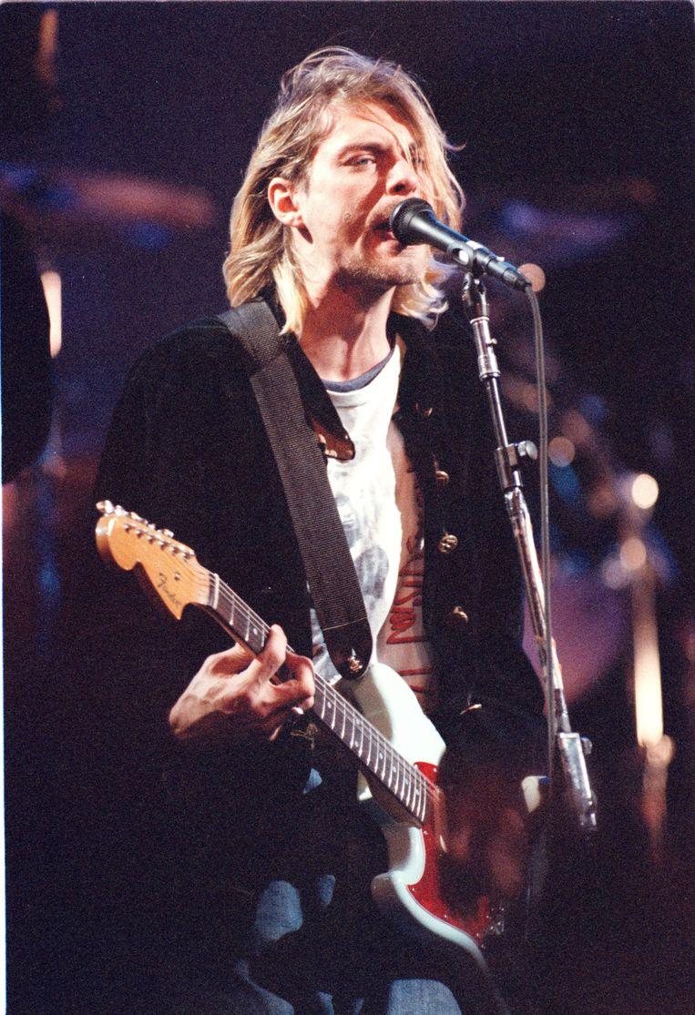 Nirvana had de riff van hun 'Eighties' geplunderd voor 'Come as You Are'. Beeld PHOTO_NEWS