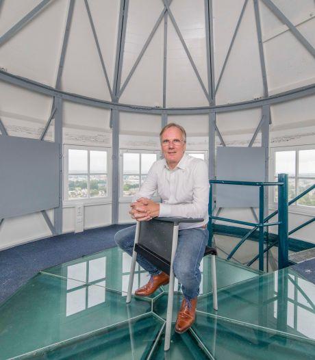 In Goes staat de hoogste watertoren van Zeeland: 'Bij windkracht 10 voel je 'm trillen'