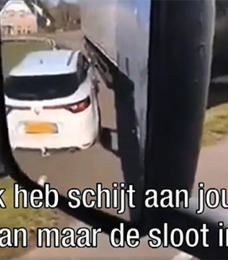 Boosheid om Brabantse trucker die live op Facebook enorm tekeer gaat: 'Ik hoop dat dit dorp afbrandt'