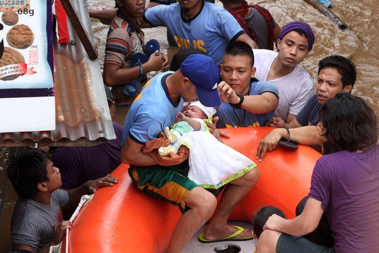 Cagayan de Oro in de Filipijnen, December 22, 2017. Beeld AFP