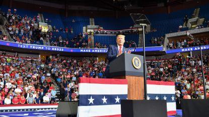 """President Trump laat open of hij nederlaag in november zou accepteren: """"Ben geen goede verliezer"""""""