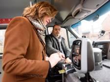 Met Bravoflex op afroep reizen van halte naar halte in Eindhoven