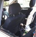 De schade in de auto is groot.