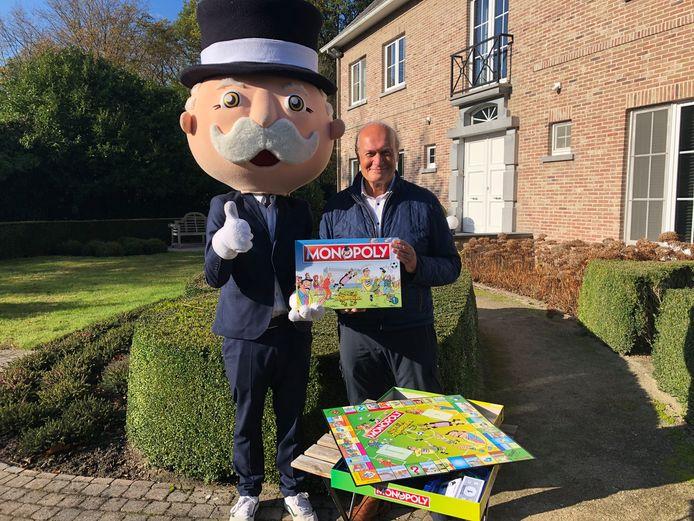 Jacques Vermeire ontvangt eerste 'F.C. De Kampioenen'-versie van Monopoly