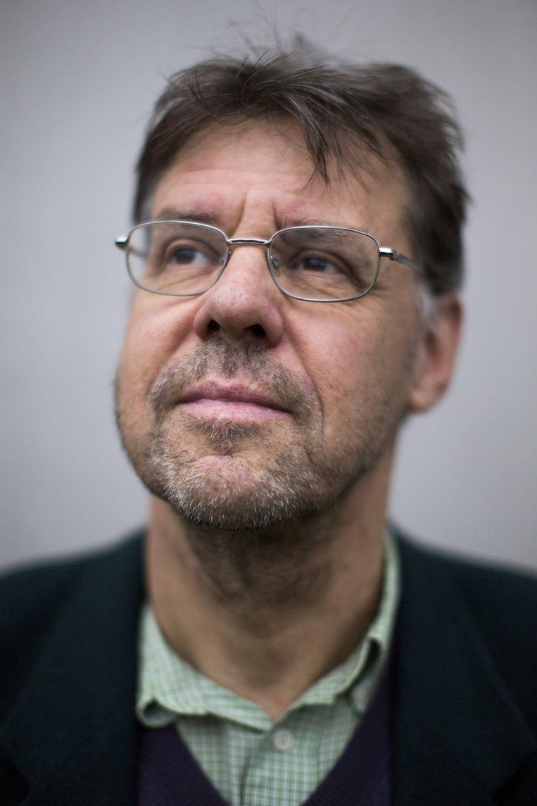 Frans Hinskens, taalkundige, verbonden aan het Meertens Instituut. Beeld Julius Schrank