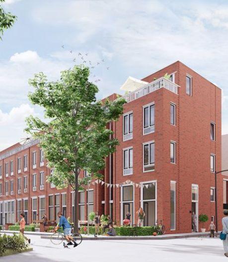 Hier komen straks twintig huurwoningen voor middeninkomens