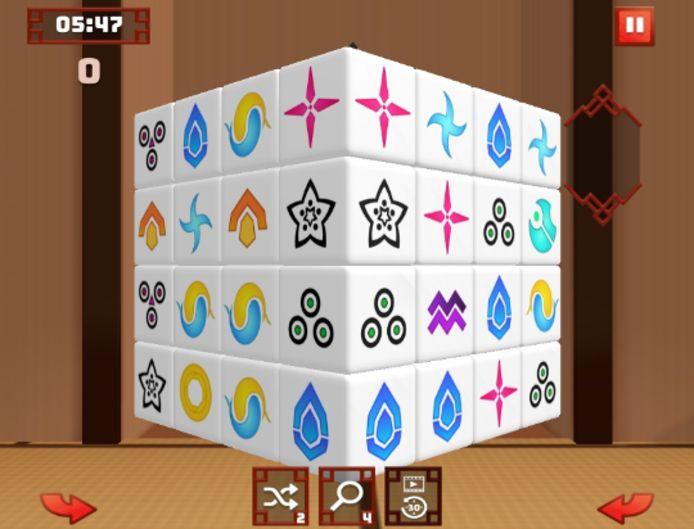 Mahjong 3D
