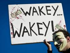 Politie treedt op als Occupy Den Haag blijft