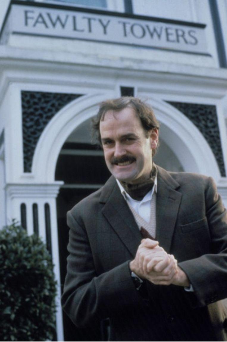 John Cleese in de jaren zeventig als 'Basil Fawlty'. Beeld BBC