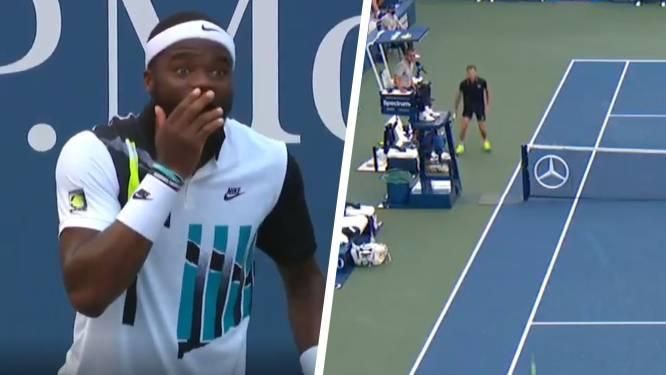 Waanzinnige rally, luide schreeuw en ongeloof: onwaarschijnlijk punt op US Open gaat de wereld rond