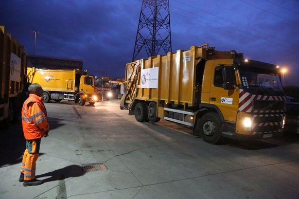 De afvalophaling bij Intradura start volgende week een uurtje vroeger door de aangekondigde hittegolf.