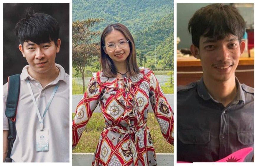Drie jonge milieuactivisten uit Cambodja zijn gearresteerd.