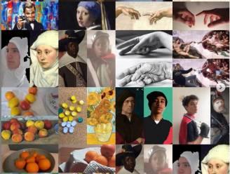 Leerlingen organiseren digitale kunstroute op Mariagaard