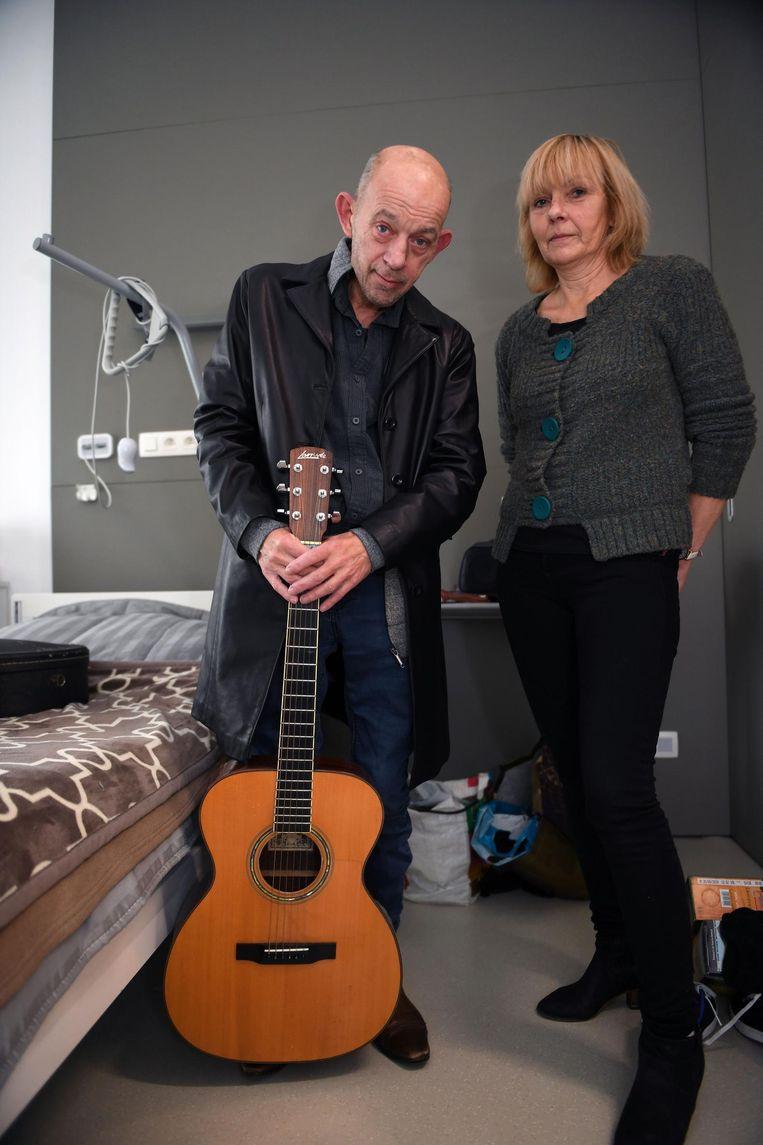 P. Van Sant met Carine Coel, in wie hij naar eigen zeggen zijn soulmate had gevonden.