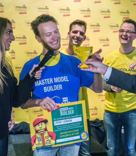 Legobouwer Arjan mag van zijn hobby zijn werk gaan maken en wordt 'Lego Master Model Builder'