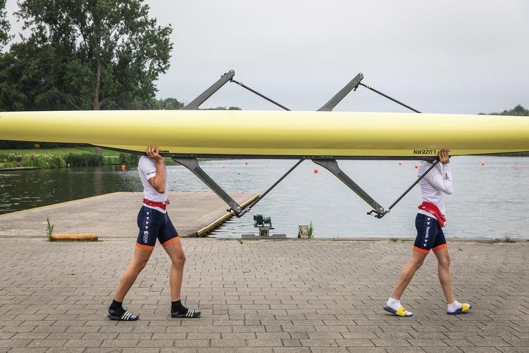 De Olympische Spelen van 1928 gaven de eerste aanzet tot het bouwen van sportfaciliteiten, zoals de Bosbaan in het Amsterdamse bos. Beeld Dingena Mol