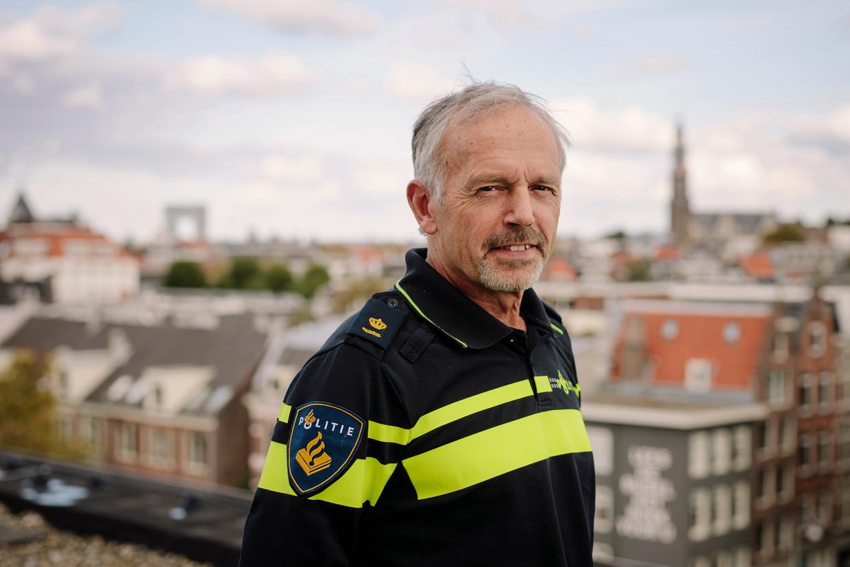 Commissaris Jan Pronker: 'Door standaardisering is het niveau van Nationale Politie opgekrikt, maar bij ons zakte het naar beneden.' Beeld Marc Driessen
