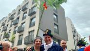 Brusselse zwanze tijdens 711de Meyboomviering