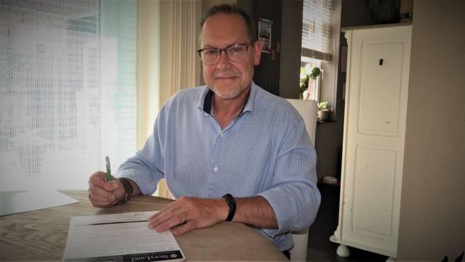 """Politieman Hans (55) schrijft eerste misdaadroman en droomt van meer: """"Aspe is ook met een eerste boek begonnen. Wat hij kon, kan ik misschien ook"""""""