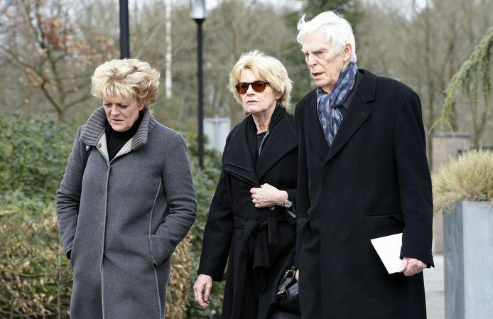 Simone Kleinsma met Martine Bijl en Berend Boudewijn.