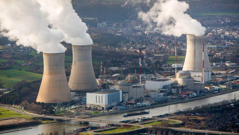 De kerncentrale in Tihange (Hoei). Beeld ANP