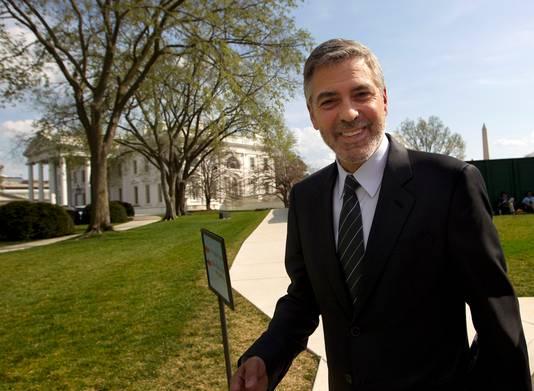 George Clooney a rencontré le président Obama à la Maison Blanche, en mars 2012.