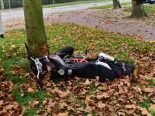 Motorrijder onderuit in Eindhoven