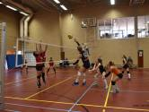 Volleybalsters Ardito dompelen tegenstander in rouw