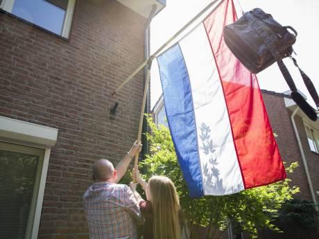 'Voor mijn zoon gaat de vlag helaas nog niet uit'
