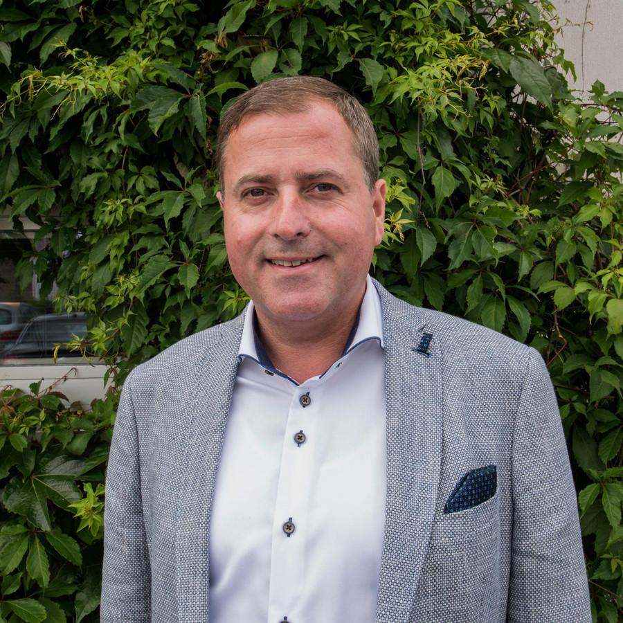 Burgemeester Christof Dejaegher.