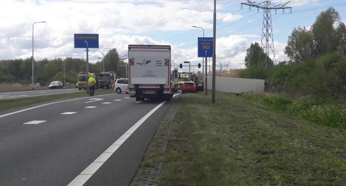 Het ongeval waarbij vrijdag twee personen uit Medemblik om het leven kwamen.