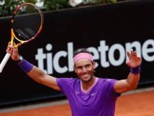 Nadal prend sa revanche sur Zverev et file en demies à Rome