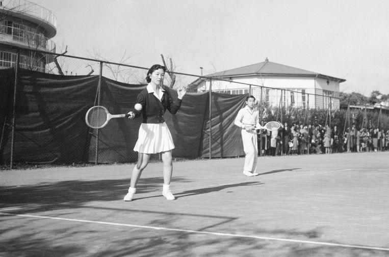 In 1958 waren Akihito en Michiko verloofd.