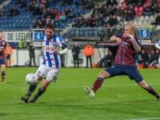 NEC en Heerenveen praten over transfer Jordy Bruijn