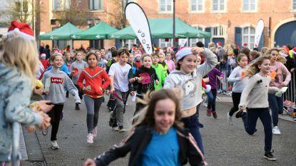 Meer dan 1.100 kinderen uit Herent nemen deel aan de eerste kerstloop