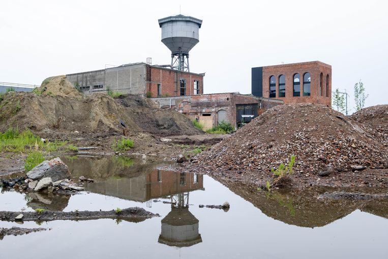 Op de site van voormalige papierfabriek De Naeyer in Willebroek werd een PFOS-vervuiling vastgesteld. Beeld David Legreve