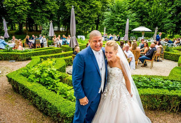Simone en Alberto Hogervorst konden hun huwelijk niet uitstellen: hij is terminaal ziek.